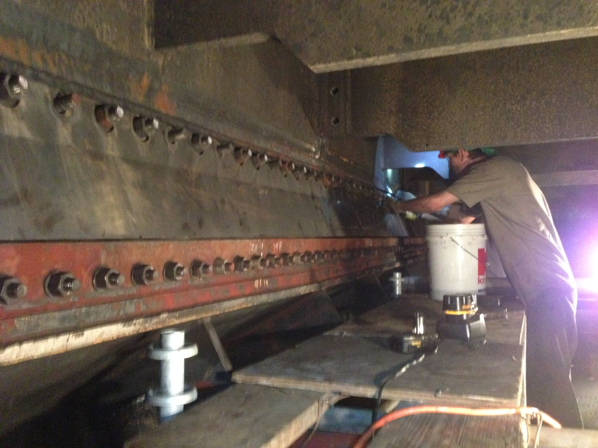 Expansion Joint Hardware : Projectile tube cleaning inc installing hardware