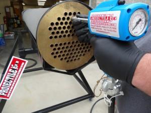 Tube Leak Detection, Pressure Test